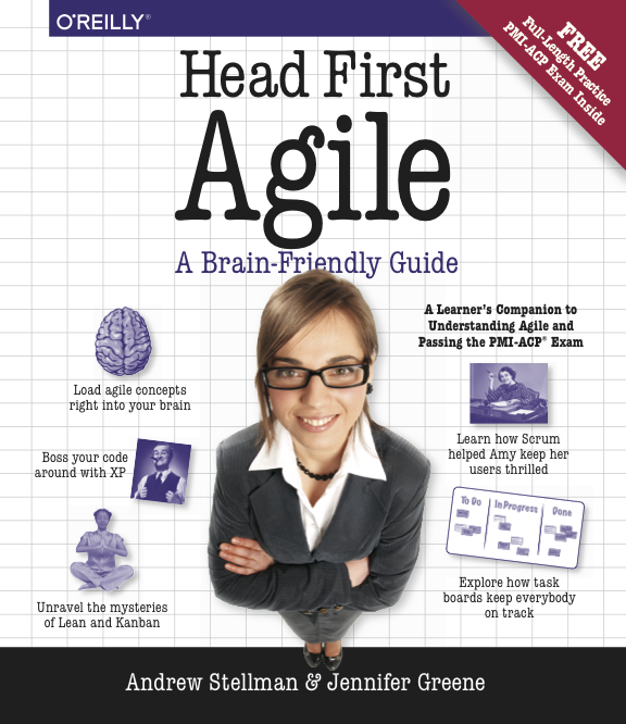 Head First Agile cover