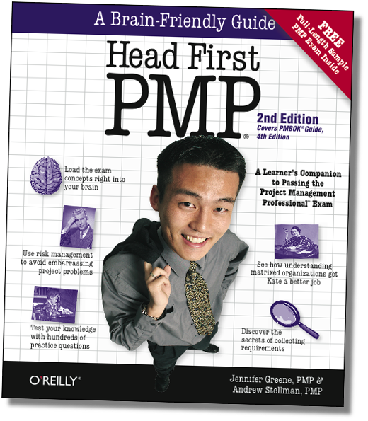 Head First PMP cover