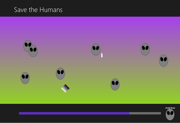 Save the Humans screenshot 600x410